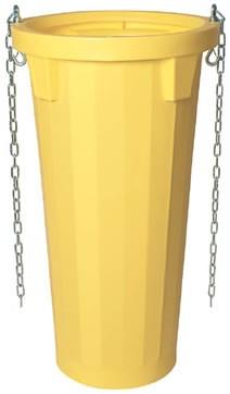 Tub pentru descarcare desuri, cu lanturi, plastic, 7164
