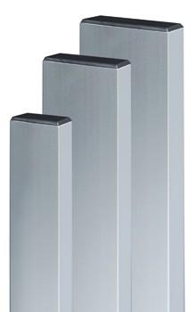 Dreptar aluminiu, pentru constructii, 30 x 60 x 1.2 mm, 2m