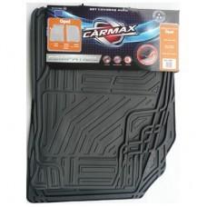 Covorase auto Carmax, pentru Opel, PVC, 70 x 50 x 1.5 cm, set 4 bucati