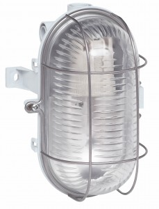 Aplica ovala 060415, 1 x E27, IP44 metalica