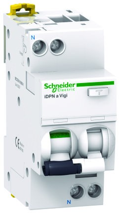 Intrerupator automat modular diferential Schneider Electric iDPNa Vigi A9D34610 1P+N 10A