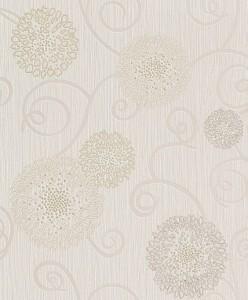Tapet netesut, model floral, Rasch Plaisir 886917 10 x 0.53 m