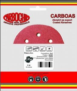 Disc abraziv cu dimensiuni 125x22 mm granulatie 400 pentru lemn, lacuri, vopsele, chit