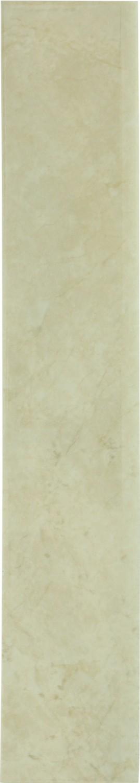 Plinta gresie ceramica Crema Marfil, mata, crem, 8 x 45 cm