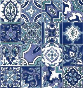 Tapet vinil Ceramics Riasan 0170-270 20 x 0.675 m