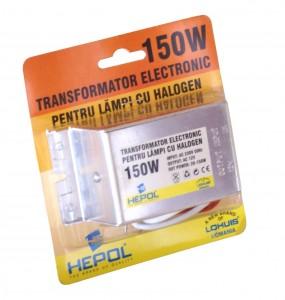 Transformator electronic de tensiune 230 / 12V Lohuis 150W