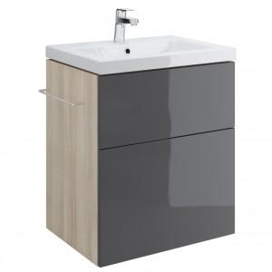 dedeman mobilier baza smart pentru lavoar como 60 cm gri. Black Bedroom Furniture Sets. Home Design Ideas