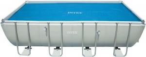 Prelata pentru acoperirea si incalzirea apei din piscina Intex Easy 59957/29026, vinyl, 549 x 274 cm