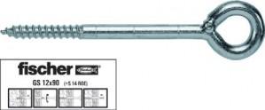 Surub pentru ancorare schela, M 12 x 230 mm