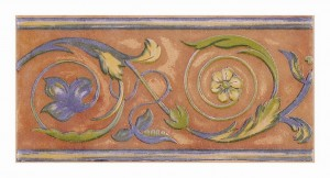 Bordura Florencia maro 15x31 cm
