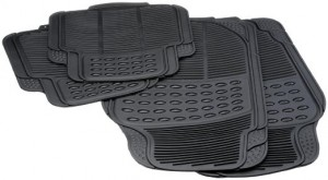 Covorase auto Comfort, PVC, universale, 43 x 45 / 69 x 45 cm, set 4 bucati