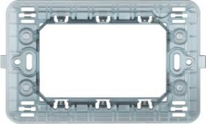 Suport Bticino Matix S503SAE, 3 module sau 1 modul centrat