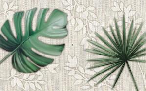 Decor faianta baie / bucatarie Yuta 2642-0438 mat verde 25.2 x 40.2 cm