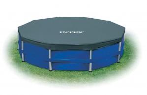 Prelata piscina Intex Easy 58901, PVC, D 457 cm