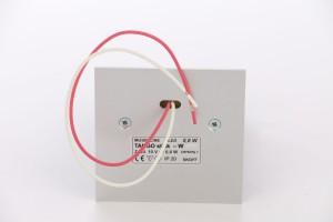 Spot LED aparent Tango Stick Skoff, 0.80W, aluminiu - alb