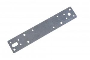 Element de imbinare plat, pentru constructii din lemn, din otel zincat, 240 x 45 mm