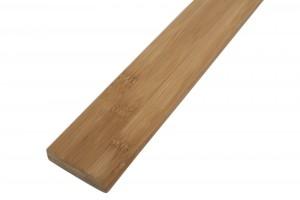 Plinta parchet bambus Dark WB6015A, lemn natural, 2000 x 60 x 15 mm