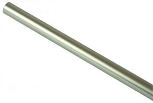 Bara galerie metal, 25 mm, 200 cm, inox