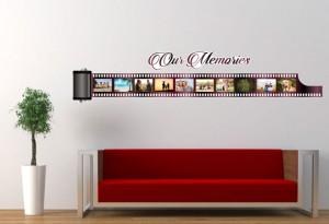 Sticker decorativ perete, living, Our memories, PT1485, 42 x 200 cm