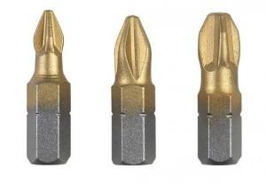 Biti pentru insurubare, profil Phillips, Bosch 2609255968, 25 mm, set 3 bucati