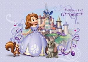 Fototapet copii duplex Disney Sofie 593P4 254 x 184 cm