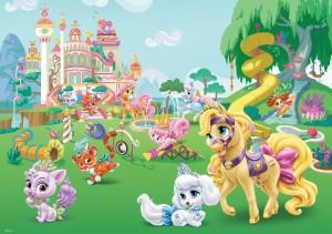 Fototapet copii duplex Disney Palace pets 11873P4 254 x 184 cm