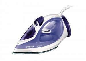 Fier de calcat Philips GC2048/30, 2300 W, talpa ceramica, 0.27 l, 120 g/min, sistem anti-picurare, alb cu mov