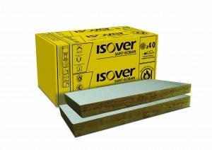 Vata minerala bazaltica Isover PLE caserata cu aluminiu 1000 x 600 x 100 mm