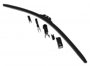 Stergator parbriz, flexibil, full adaptor, 28 - 70 cm, 1 buc