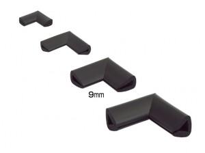 Coltar protector muchii din spuma de cauciuc AC-157, negru, grosime 9 mm