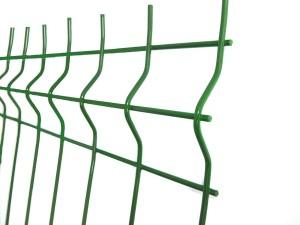 Panou zincat gard verde 2000X2000