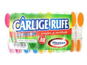 Carlige rufe silicon 10/ set