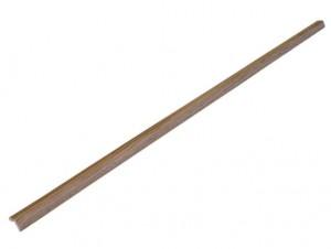 Protectie colt din spuma de cauciuc AC-120, foarte subtire, lemn inchis, 90 cm, grosime 4 mm