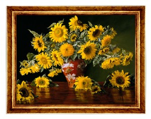 Tablou Raul TI00448, inramat, canvas + HDF, stil clasic, 60 x 80 cm