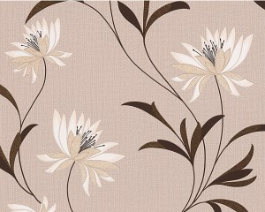 Tapet profil, model floral, AS Creation Atlanta 957201 10 x 0.53 m
