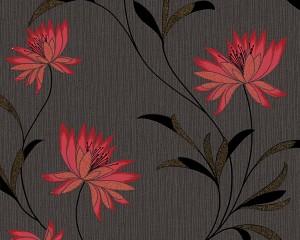 Tapet profil, model floral, AS Creation Atlanta 957202 10 x 0.53 m