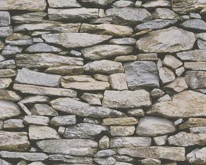 Tapet hartie, model piatra, AS Creation Dekora Natur 6 958202 10 x 0.53 m