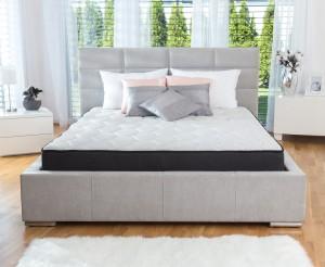 Saltea pat Dormeo iMemory S Plus II, 1 persoana, cu spuma memory + Ecocell, cu arcuri din spuma, 90 x 200 cm