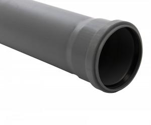 Teava PP pentru canalizare interioara, cu inel, 1500 x 50 x 1.8 mm