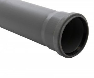 Teava PP pentru canalizare interioara, cu inel, 1500 x 40 x 1.8 mm
