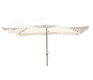 Umbrela soare pentru terasa BCU-0052 structura metal crem 400x300 cm