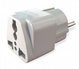 Multifisa adaptor 01-033, contact de protectie, 220 / 120V, 10A