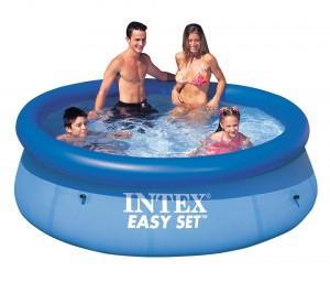 Piscina gonflabila Intex  Easy Set Clearview 56970/28110, 244 x 76 cm