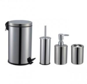 Set accesorii pentru baie, BBS 403400, cromat, 4 piese