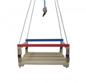 Leagan copii, din lemn, 36 x 26 x 7 cm