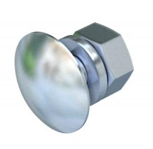 Surub plat 8.8 6406998, otel zincat, M8 x 25  mm