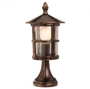 Stalp de iluminat ornamental Bari 9840, 1 x E27, 43 cm