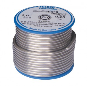 Aliaj lipire 3mm/250g  Felder 1497302006