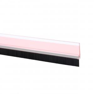 Perie pentru usi, pentru etansare, transparent, Tesa Moll 5433, 1 m