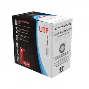 Cablu UTP 5E-CCA-305-CHR, aluminiu cuprat